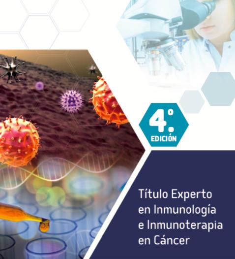 IV Título Experto en Inmunología e Inmunoterapia en cáncer