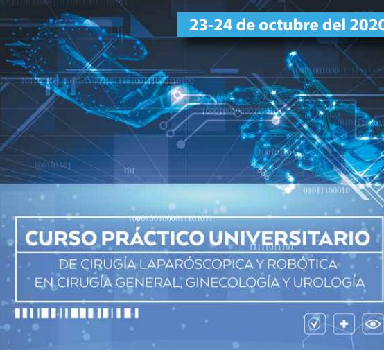 Curso de Cirugía Laparoscópica y Robótica en Cirugía General, Ginecología y Urología
