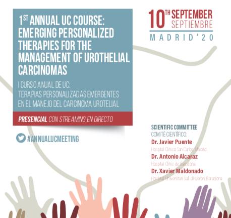 I CURSO ANUAL DE UC: Terapias personalizadas emergentes en el manejo del Carcinoma Urotelial