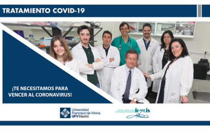 PAREMOS EL COVID es el nuevo proyecto de crowfunding del equipo UFV/IRYCIS para frenar el COVID-19