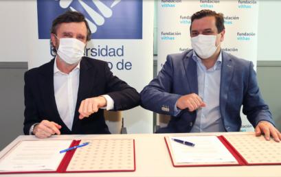 Vithas, Fundación Vithas y la Universidad Francisco de Vitoria firman un convenio para impulsar la docencia y la investigación en salud
