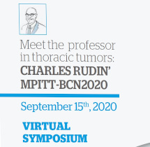 Curso Meet the Professor in Thoracic Tumors: Charles Rudin