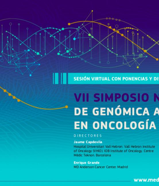 VII Simposio Nacional VIRTUAL de Genómica Aplicada en Oncología