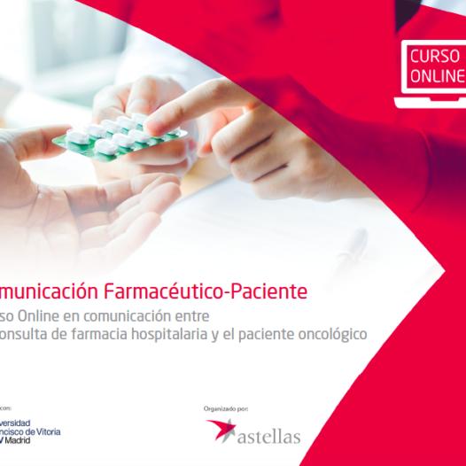 Curso Online en comunicación entre la consulta de farmacia hospitalaria y el paciente oncológico