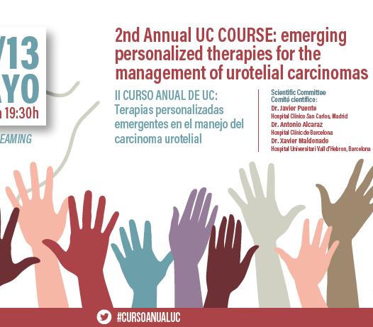 II CURSO ANUAL DE UC: Terapias personalizadas emergentes en el manejo del Carcinoma Urotelial