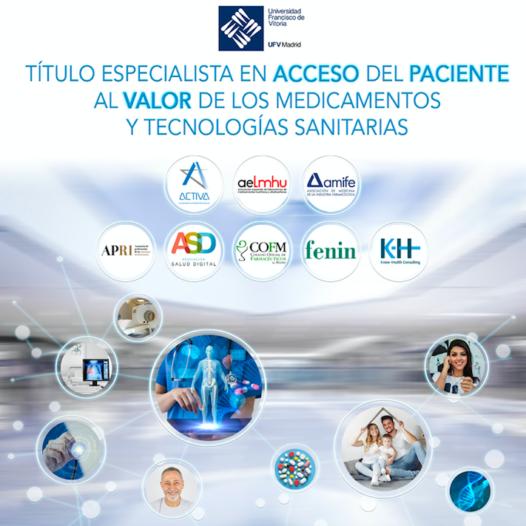 La UFV y 'ACTIVA' Plataforma de Formación en Salud y Know-Health Consulting, informan de la convocatoria del Título Especialista en 'Acceso del Paciente al Valor de los Medicamentos y Tecnologías Sanitarias'