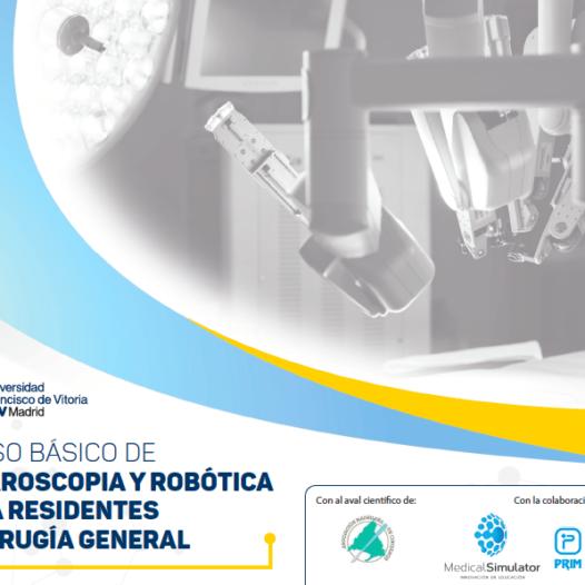 Curso Básico de Laparoscopia y Robótica para Residentes de Cirugía General