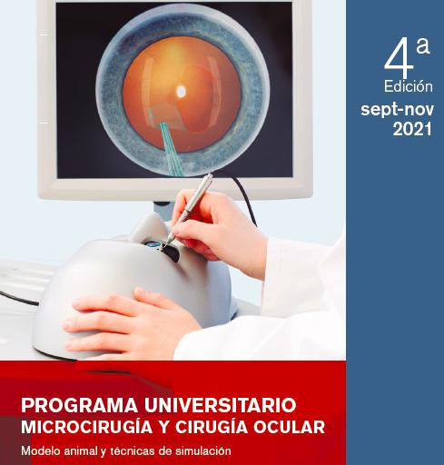 Programa de Microcirugía y Cirugía Ocular – Modelo animal y Técnicas de simulación