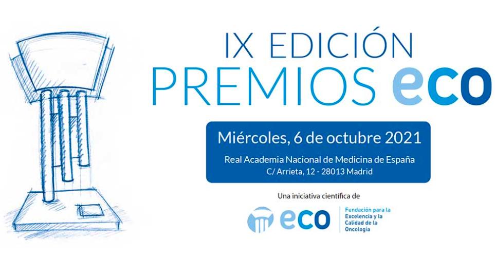 El próximo 6 de octubre se celebrará la IX edición de los PREMIOS ECO